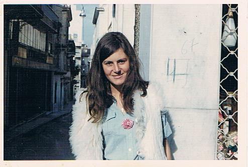 Shirley, 23 y.o., Odos Misikleos, Plaka, Athens, 1967