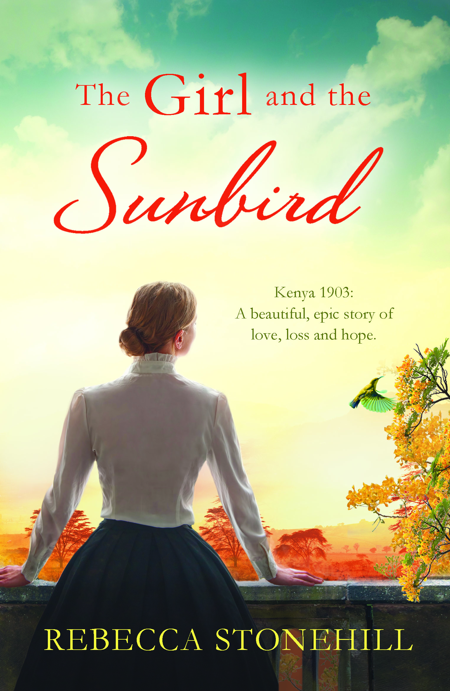 girl and sunbird_1